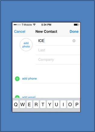 How To Set Up An ICE Contact On Your iPhone | You'll find this and other quick and easy life hacks and organization hacks at https://rnn10.wordpress.com