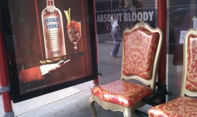 Extreme Bus Stop Makeover - By Absolut Vodka | You'll find this and other quick and easy life hacks and organization hacks at https://rnn10.wordpress.com.