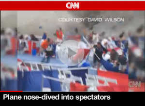 Plane Nose-Dived Into Crowd Of Spectators | You'll find this video and other quick and easy life hacks and organization hacks at https://rnn10.wordpress.com.