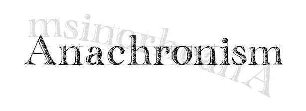 Anachronism | A new drama series by Janet and Laura Greenwald www.lionandtherock.com