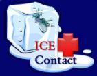 icecubeicecontactblue