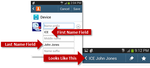 How To Set Up An ICE Contact On Your Samsung Galaxy Phone | Connected