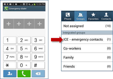 How to put an ICE Contact on your Samsung Galaxy Lock Screen | Connected