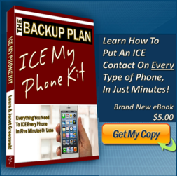 The ICE My Phone Kit. Now in the handy downloadable edition!