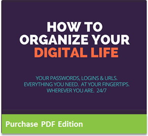 How To Organize Your Digital Life | Downloadable PDF Edition, $5 on Gumroad.com