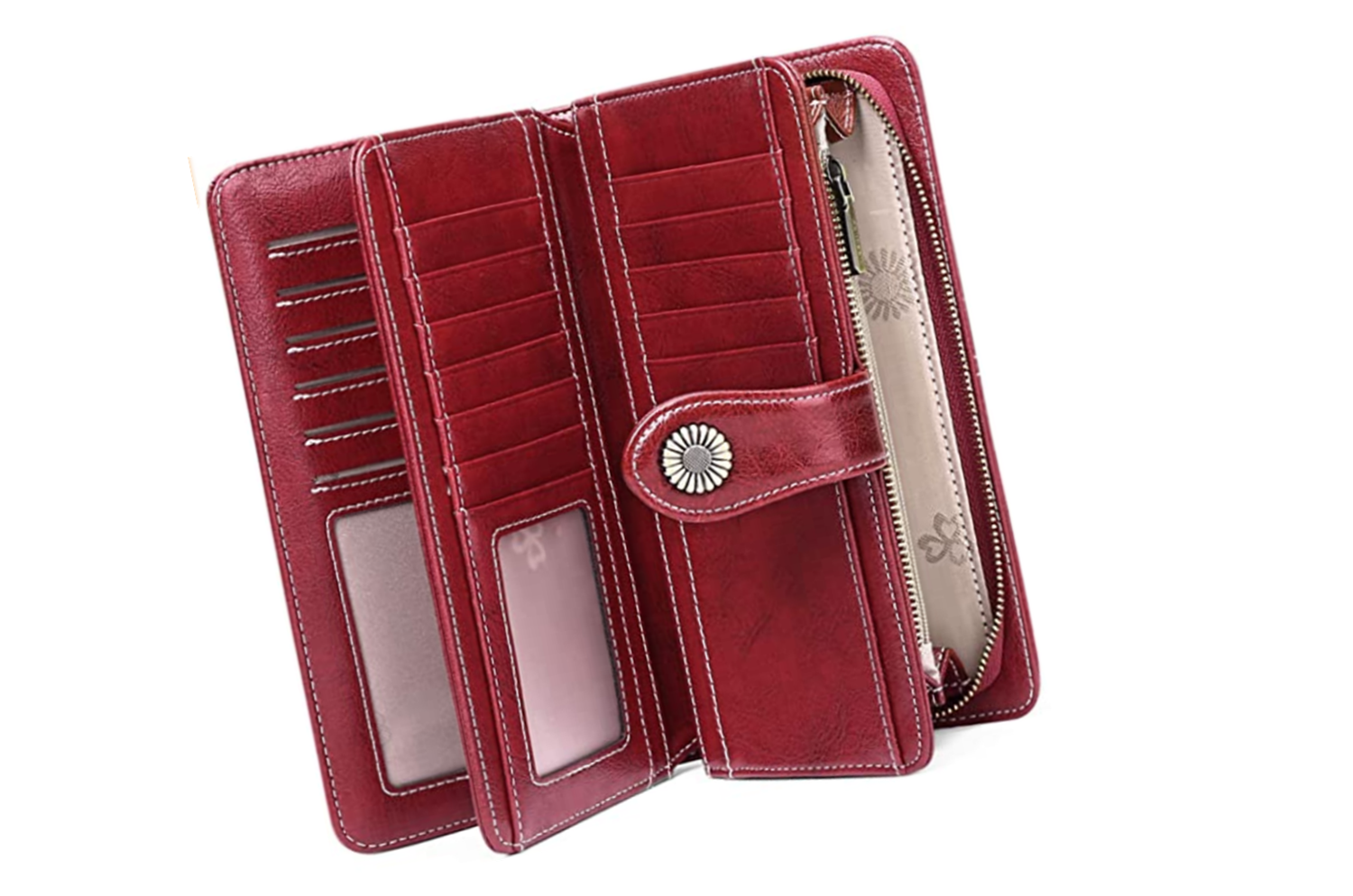 2 POST Access Money womens rfid wallet